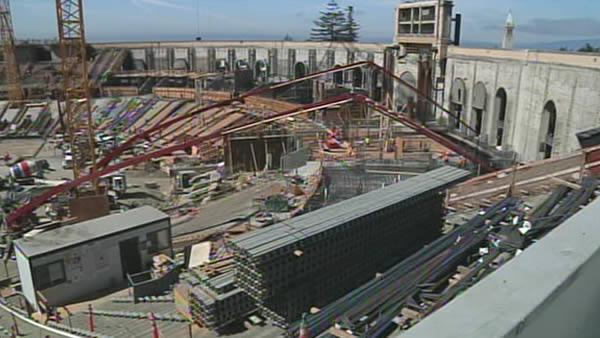 Cal's Memorial Stadium construction underway