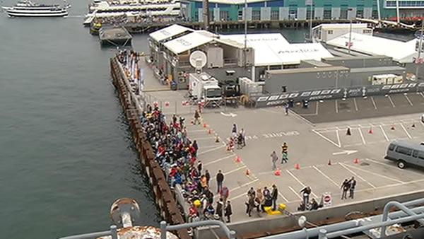 ABC7 checks out America's Cup event in San Diego