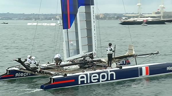 French team pulls out of America' Cup