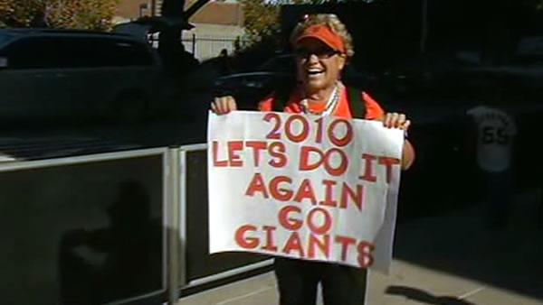 SF Giants, A's fans have playoff fever