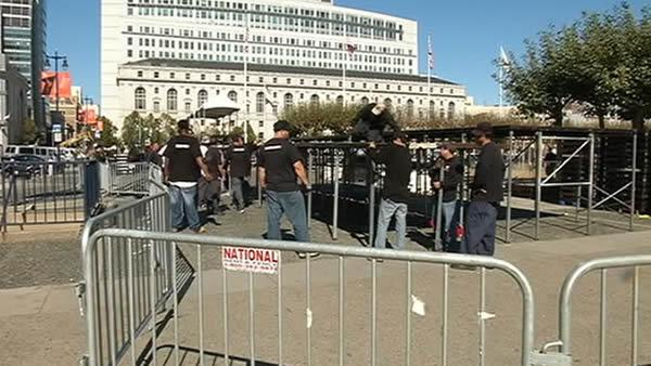 San Francisco prepares for Giants parade