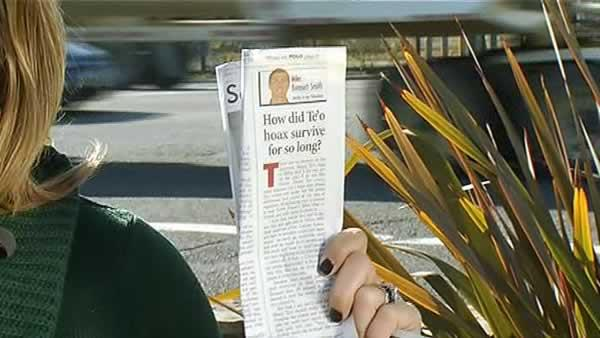 Stanford campus not wild about Te'o girlfriend hoax