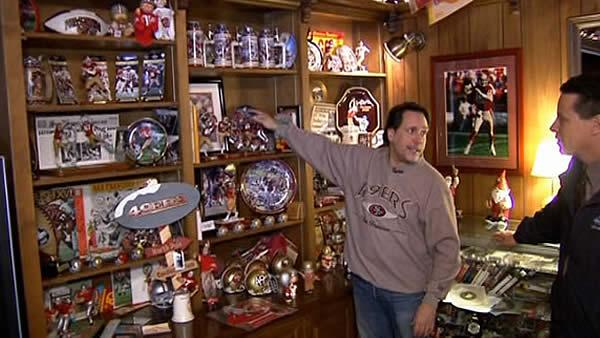 Super fan has 49er artifacts the team wants