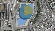 Athletics San Jose stadium map