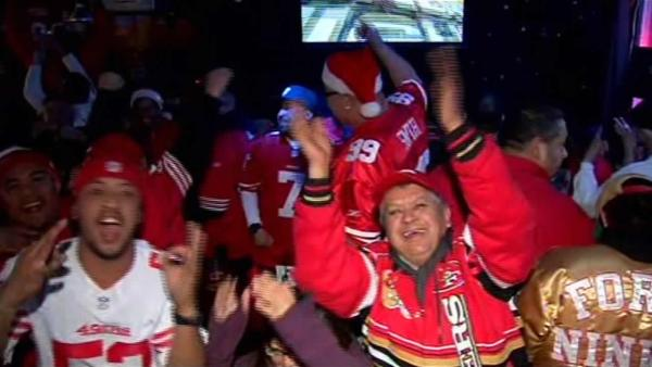 49ers fan celebrate game at historic bars