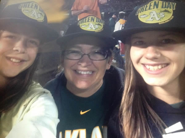 "<div class=""meta ""><span class=""caption-text "">If you're a proud Oakland A's fan send your photos to uReport@kgo-tv.com and they could be featured on TV! (KGO Photo/submitted by Heather A. via Facebook)</span></div>"