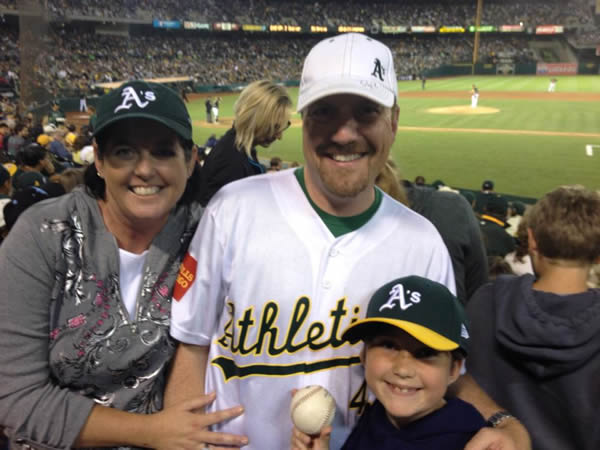 If you&#39;re a proud Oakland A&#39;s fan send your photos to uReport@kgo-tv.com and they could be featured on TV! <span class=meta>(KGO Photo&#47;submitted by Kelly C. via Facebook)</span>