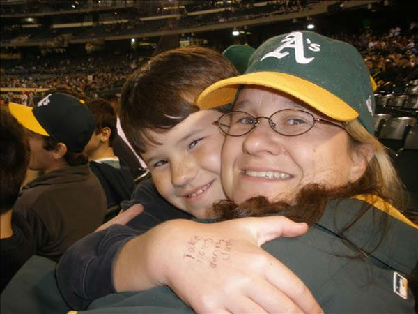 If you&#39;re a loud and proud A&#39;s fan, send us your photos and they could be featured on TV!  uReport@kgo-tv.com  <span class=meta>(KGO Photo&#47; submitted via uReport)</span>