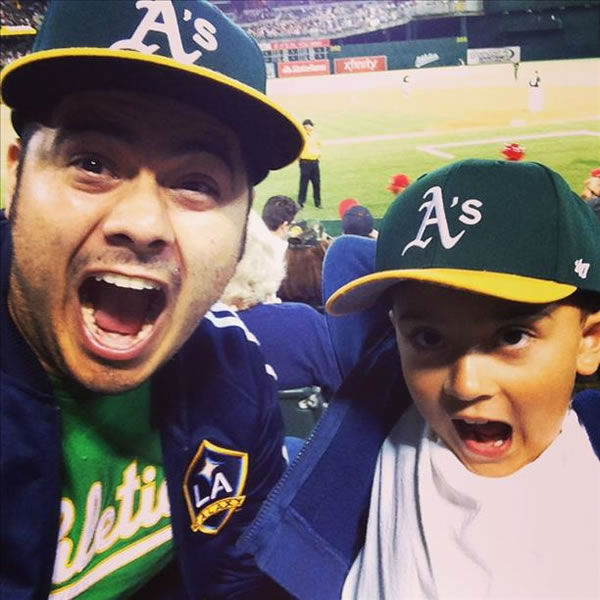 "<div class=""meta ""><span class=""caption-text "">If you're a proud Oakland A's fan send your photos to uReport@kgo-tv.com and they could be featured on TV! (KGO Photo/ submitted via uReport)</span></div>"