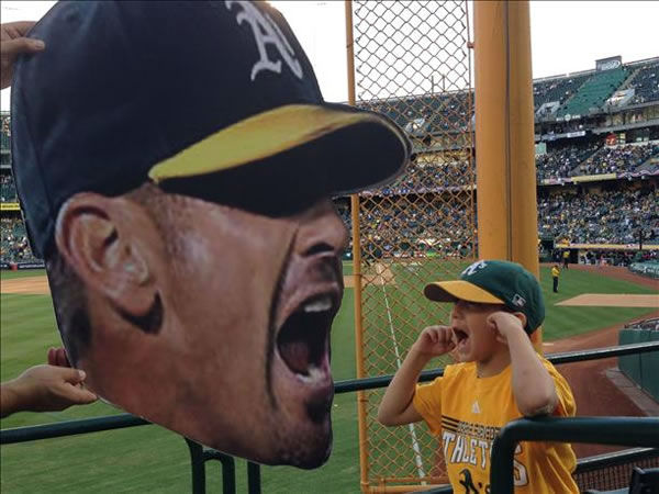 If you&#39;re a proud Oakland A&#39;s fan send your photos to uReport@kgo-tv.com and they could be featured on TV! <span class=meta>(KGO Photo&#47; submitted via uReport)</span>
