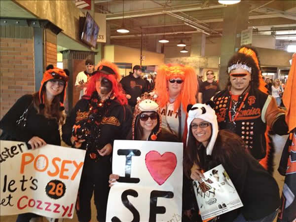 Giants postseason fun! (Submitted by cshields26 via uReport)