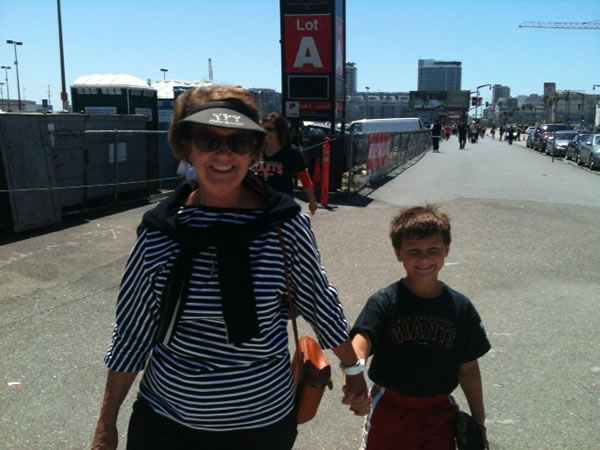 Grandma Talie Cutler & grandson Drew Doll (Photo submitted via uReport)