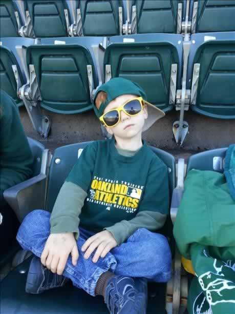 If you&#39;re a proud A&#39;s fan send us your photos and they could be featured on TV! uReport@kgo-tv.com &#40;KGO Photo&#47; submitted via uReport from the Bitter Family&#41; <span class=meta>(KGO Photo&#47; submitted via uReport)</span>