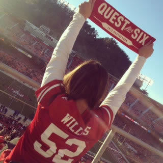 &#34;One of my most memorable games - 49er Faithful really ROCKED THE STICK! - 2012 Divisional Round Playoffs: 49ers v. Packers #FarewellCandlestick.  The time has come to say goodbye - let&#39;s preserve the memories.  Send us your favorite Candlestick pics.  We may share them on air! <span class=meta>(photo submitted by Angelica Galang via uReport)</span>