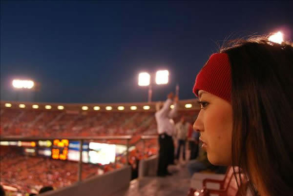 The time has come to say goodbye - let&#39;s preserve the memories.  Send us your favorite Candlestick pics.  We may share them on air! <span class=meta>(KGO Photo&#47; photo submitted via uReport)</span>