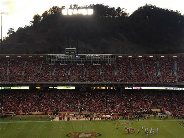 The time has come to say goodbye - let&#39;s preserve the memories.  Send your favorite Candlestick pics to uReport@kgo-tv.com.  We may share them on air! <span class=meta>(Photo&#47;photo submitted via uReport)</span>