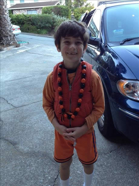 Garrett 8-year-old giants fan. (Sent via uReport)