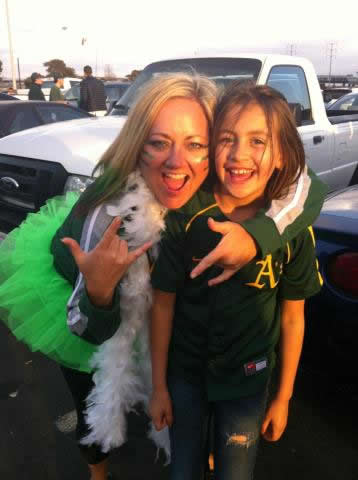A's fan photo submitted via uReport.