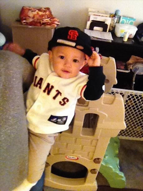 Giants fan! (Sent via uReport)