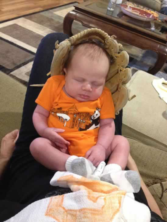 Bode Brenner - 5 weeks old! Martinez, CA (Photo submitted via uReport)