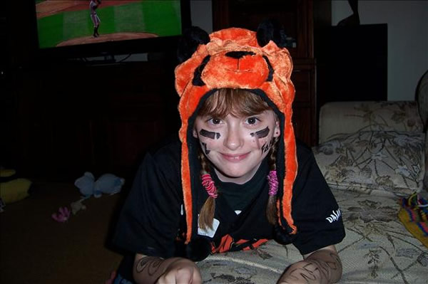 Kimberly Banas - Go Giants!! From Darlene Banas (Sent via uReport)