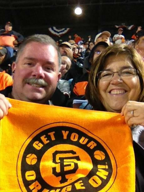 Bay Area baseball fans show off their playoff fever! (Photo submitted via uReport)