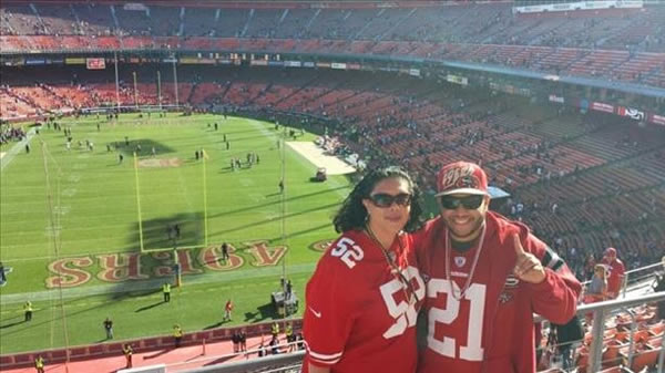 &#34;My godson came all the way from Dayton, Ohio to attend one last game at The Stick.&#34; <span class=meta>(Submitted by Gaby Alvarenga via ureport)</span>