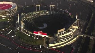 The Oakland Athletics say they are stopping negotiations to extend their lease at the Coliseum.