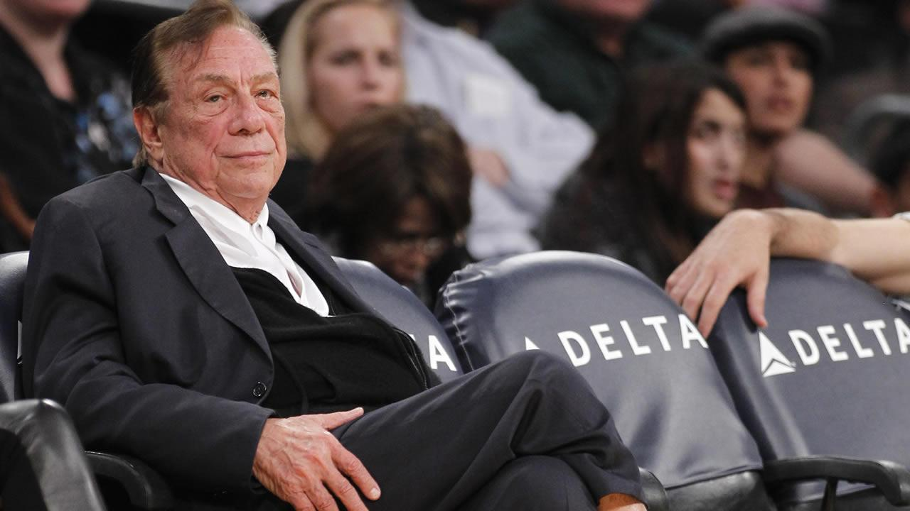 Los Angeles Clippers owner Donald Sterling looks on during the second half of an NBA preseason basketball game between the Los Angeles Clippers and the Los Angeles Lakers in Los Angeles on Monday, Dec. 19, 2010. The Clippers won 114-95.
