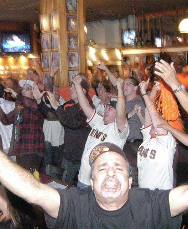 The American Bull sports bar in Burlingame  (Photo submitted by Larry Crystal via uReport)