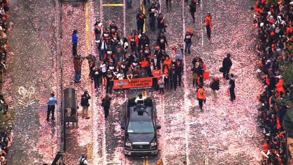 "<div class=""meta ""><span class=""caption-text "">City honors San Francisco Giants 2012 World Series baseball champions. (KGO)</span></div>"