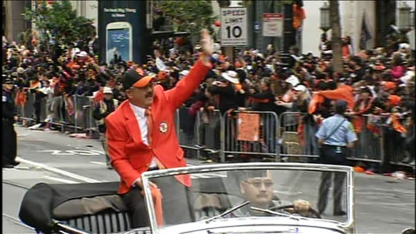 Mayor Ed Lee at the SF Giants World Series parade