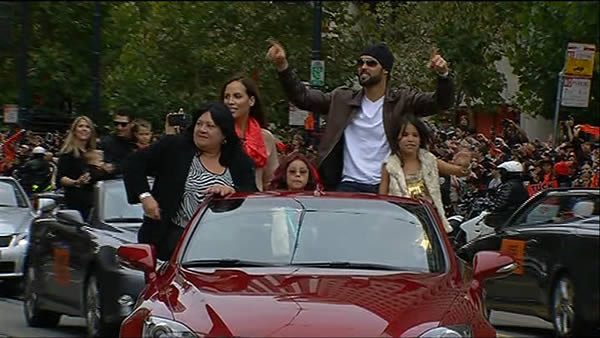 SF Giants World Series parade