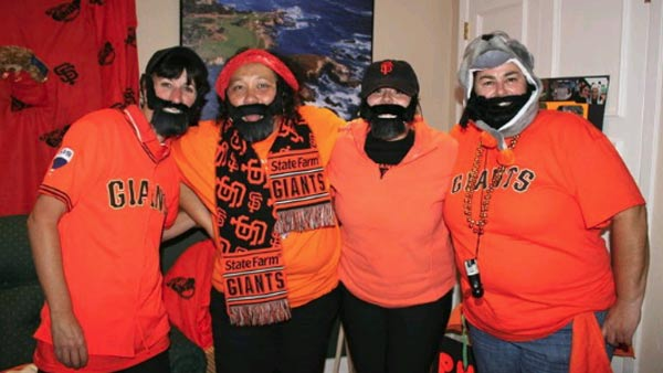 Sent in by Shelby Molini. Send us your Giants fan photos to uReport@kgo-tv.com or upload them to uReport.abc7news.com. <span class=meta>(uReport)</span>