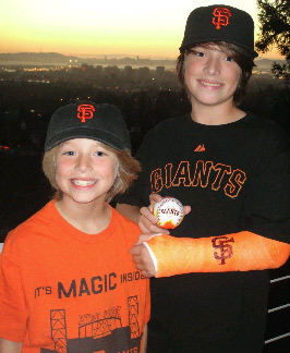 Sent in by Lisa. Send us your Giants fan photos to uReport@kgo-tv.com or upload them to uReport.abc7news.com. <span class=meta>(uReport)</span>