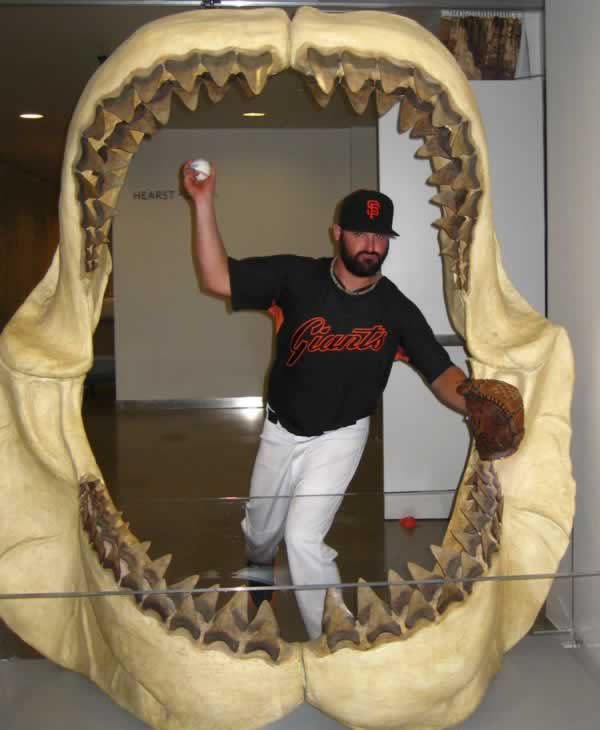 Dean, as Brian Wilson at the Academy of Sciences! (Photo submitted via uReport)