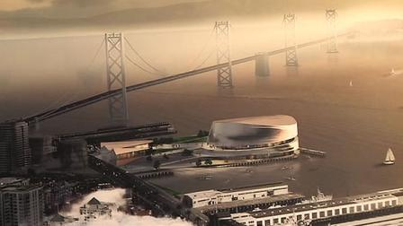 Warriors unveil design for arena in San Francisco