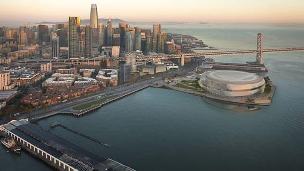 Golden State Warriors alter SF waterfront arena plan