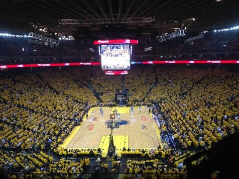 Let&#39;s go Warriors! <span class=meta>(@AmaABC7&#47;Twitter)</span>