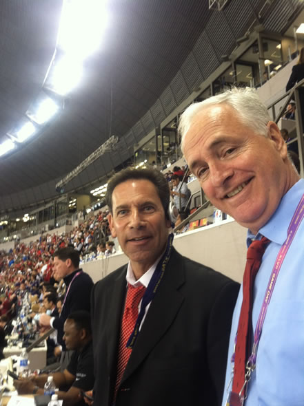 "<div class=""meta ""><span class=""caption-text "">Larry Beil and Mike Shumann in the press box</span></div>"