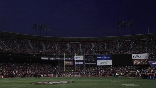 Officials seek cause behind Candlestick power outage
