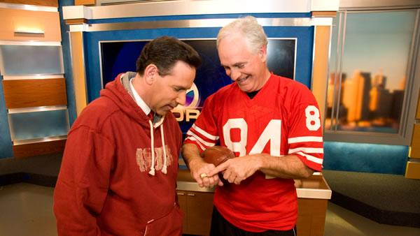 Larry and Stu have Super Bowl 2013 49er Fever