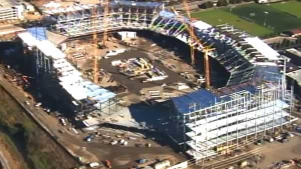 New SF 49ers stadium 20 percent complete
