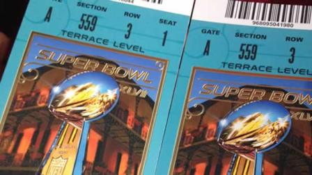 Jed York tweeted out this pair of Super Bowl tickets hes giving away