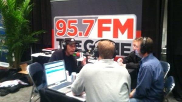 ABC7's Larry Beil chats with 95.7 The Game in New Orleans.