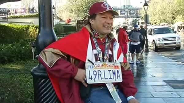 49ers fans flock to New Orleans for Super Bowl 47