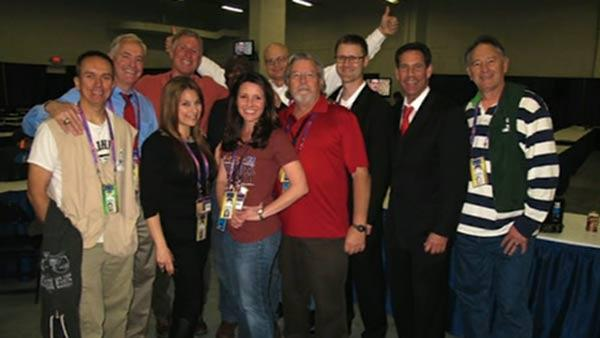 The whole ABC7 Team in New Orleans