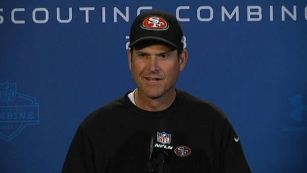 49ers coach Jim Harbaugh cites wisdom of Judge Judy