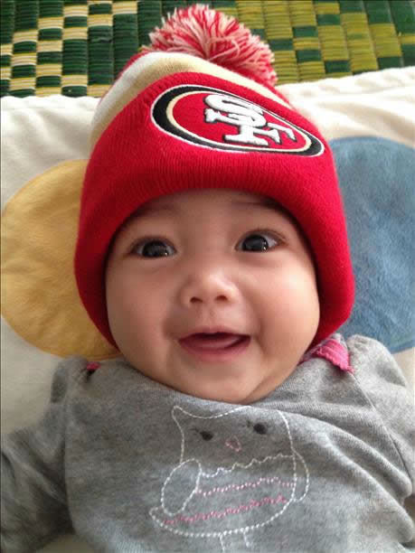 49er fans, keep the photos coming! Send to uReport@kgo-tv.com and we may show them off on air! <span class=meta>(KGO Photo&#47; photo submitted via uReport)</span>