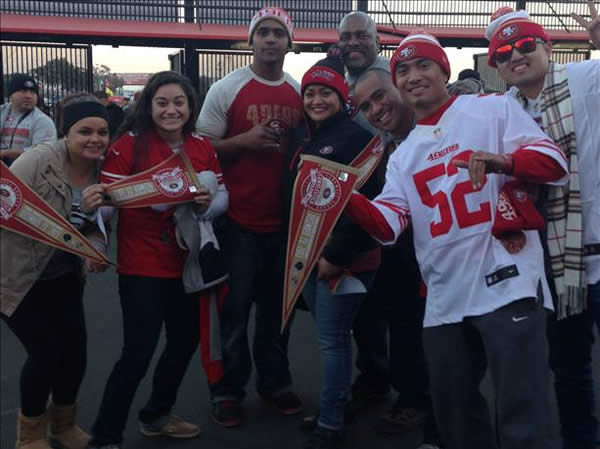 "<div class=""meta ""><span class=""caption-text "">There is no shortage of 49er pride here in the Bay Area! Keep sending your photos to uReport@kgo-tv.com and we may show them off on air! (KGO Photo/ photo submitted via uReport)</span></div>"